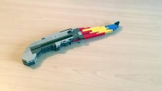 Лего поделки 2 (складной нож и сейф)