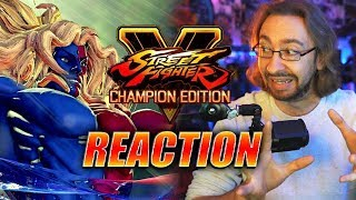MAX REACTS: Gill & SF5 Champ. Edition - Reveal Trailers