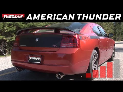 2005-10 Charger R/T, 300C 5.7L - American Thunder Cat-back Exhaust System