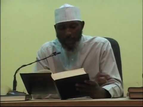 Sheikh Awwal Albany Zaria (Sahih Muslim Lecture 2)