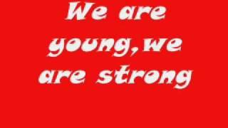 We are Young - Mika (Kick Ass) Lyrics