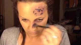 Latex - Cómo Hacer Heridas Y Cortes Con Latex Y Papel