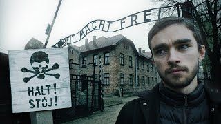 Vi besöker Auschwitz