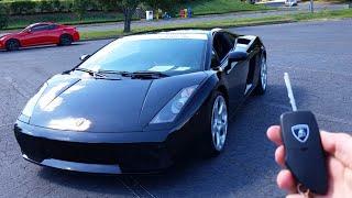 2004 Lamborghini Gallardo: Start Up, Exhaust, Walkaround And Review
