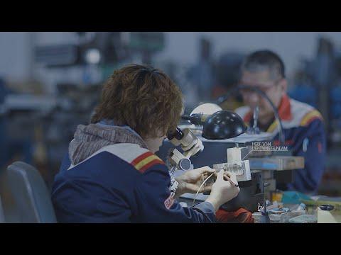 THE GUNPLA FACTORY -BANDAI HOBBY CENTER- Promotional Video