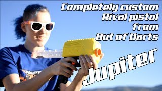 Out of Darts Jupiter Review - Full Auto in a Tiny Package, the Ultimate Mini Nerf Rival Pistol