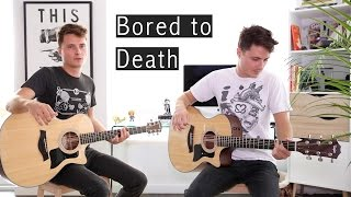Bored To Death Acoustic Cover Blink182  Glen Gustard
