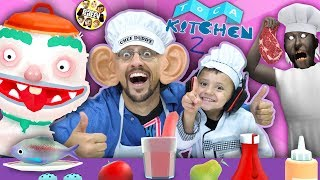 TOCA KITCHEN 2 - Cooking Up Fun (FGTEEV CHEF DUDDY & SHAWN)
