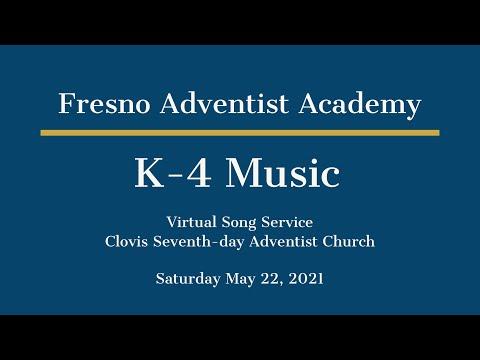 FAA K-4 Music Virtual Song Service 5/22/21
