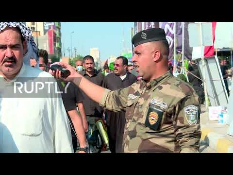 Iraq: Worshippers make their way to Karbala in Arbaeen pilgrimage