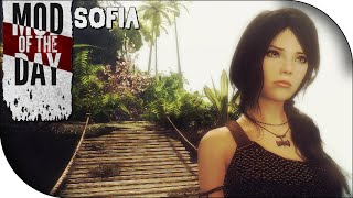 Skyrim Mod of the Day - Episode 263: Sofia the Funny Voiced Follower!