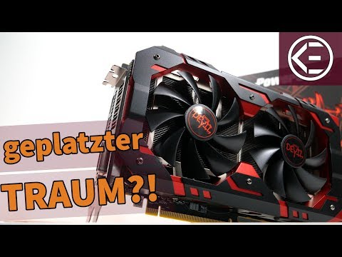 DIESE GRAFIKKARTE ist der GEPLATZTE TRAUM ALLER GAMER | GTX 1060 Killer - Red Devil RX 580 Review