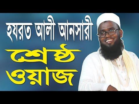 হযরত আলী আনসারী শ্রেষ্ঠ ওয়াজ ২০১৯ | Hazrat Ali Ansari new bangla waz 2019 | Waz Mahfil | Waj