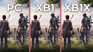 The Division 2 – PC 4K Max vs. Xbox One vs. Xbox One X Graphics Comparison