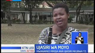 Msichana Mtanzania amewashangaza wengi kwa kujitangaza hadharani kwamba anaishi na virusi vya ukimwi