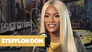 Hot 97 - Stefflon Don On What Goes Down In The DM's, UK Rap & Her Journey