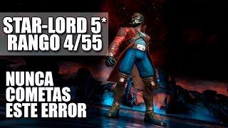 Star-Lord 5 estrellas en Rango 4, cometí un error por desconcentración - Marvel Contest of Champions