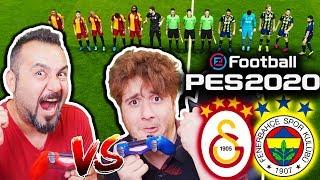 PES 2020 FULL! İLK DERBİ GALATASARAY-FENERBAHÇE | GEREKSİZ ODA vs SESEGEL