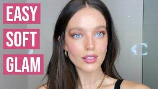 Easy Soft Glam Makeup Tutorial | Natural Soft Glam Makeup | Emily DiDonato