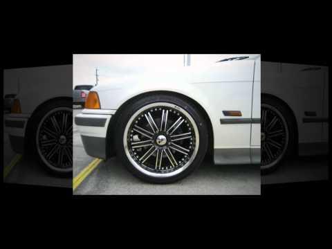 F1 Wheel & Tyre: BMW 318i 18 inch custom rims ENIX Alloy Wheels