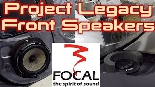 Project Legacy: Focal PS165-fx TRICKEY INSTALL!!