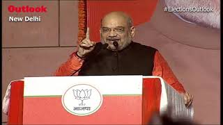Amit Shah Calls BJP's Victory Historic, Says Cong Scored 'Zero' In 17 states