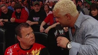 "Michael Cole makes it personal with Jerry ""The King"" Lawler"