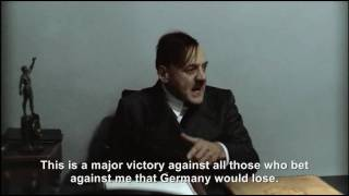 Hitler and the Bunker react to Germany's 4-1 victory against England