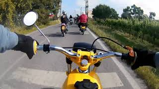 Passeio Motorizadas Leões De Cajados - Sachs Fuego 80cc