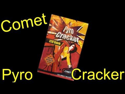 COMET | Pyro Cracker aus dem Schinken | Grün-Weiße Ringe