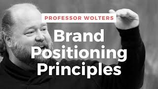 Basic Branding Positioning Principles