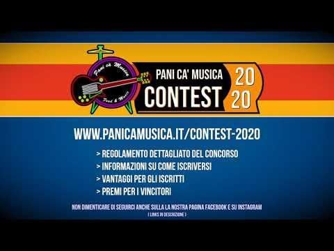 Pani cà Musica Contest 2020 - #concorso #musica #contest_musicale