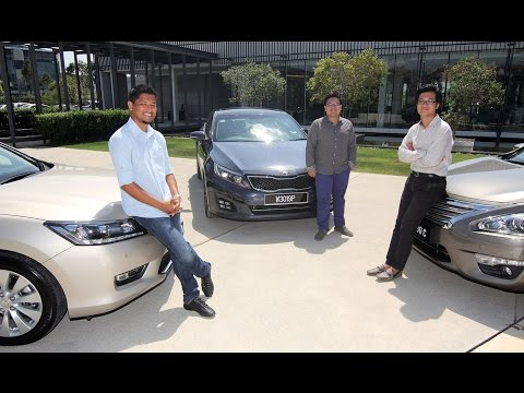 Honda Accord vs Nissan Teana vs Kia Optima