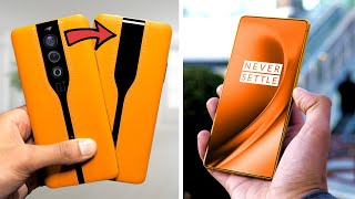 OnePlus Concept One Smartphone - Disappearing Cameras!