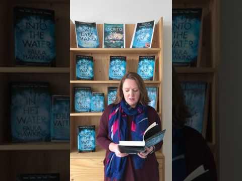 Paula Hawkins leest voor uit In het water!