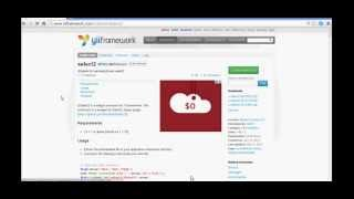 Yii Tutorial1 - How to Create Jquery Select2 Plugin in Yii Framework?