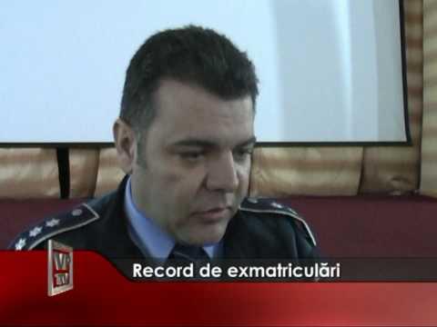 Record de exmatriculari