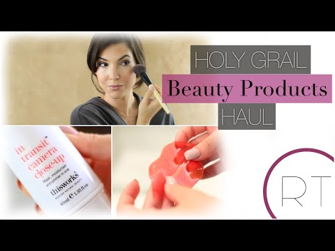 My Holy Grail Must Have Beauty Products HAUL