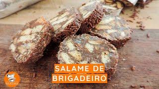 #61 - Como Fazer Salame de Brigadeiro