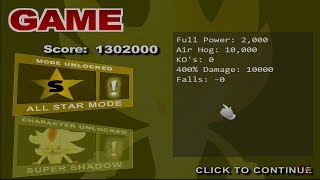 SSB - #16   100 Man Melee  [Unlocking SuperShadow]