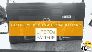Lithium Batterie (LifePo) im Wohnmobil