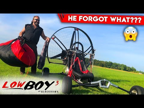 Paramotor Quad - Stability of BlackHawk LowBoy 3