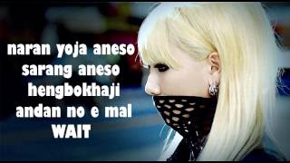 2NE1 - HAPPY easy lyrics