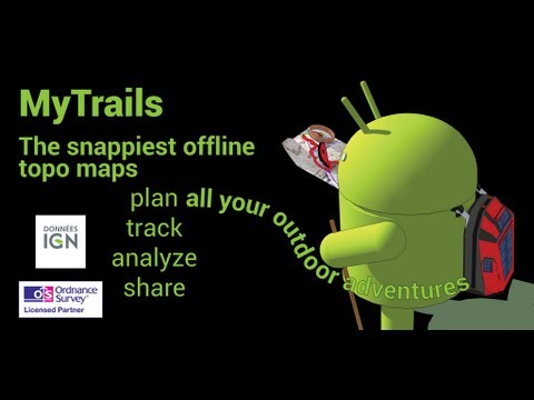 Video of MyTrails Pro License