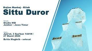 """Kajian Kitab Manhaj – """"Sittu Duror"""""""