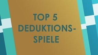 Top 5 Brettspiele mit Deduktionselement