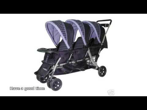 triple baby strollers