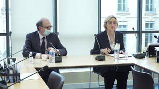 Встреча министра иностранных дел Ара Айвазяна в Национальном собрании