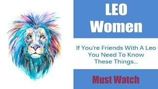 10 Characteristics About Leo Woman