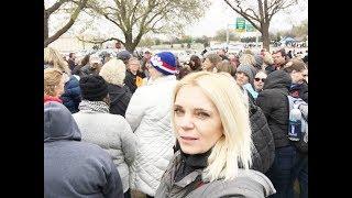США Забастовка Учителей в Оклахоме День ПЕРВЫЙ  Капитол Хилл Право на протест